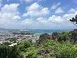 伊波城跡の測量点からの眺望