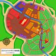 ミスリルウッドタウン街地図、【休日ver】