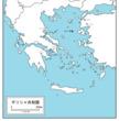 ギリシャ世界地図改