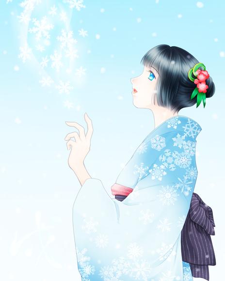 【英雄学園】雪花