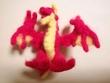 姪っ子のフェルトドラゴン