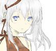 銀髪蒼眼の少女