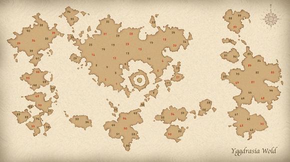 架空世界地図
