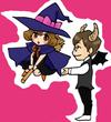 ハロウィン(執事と魔女)