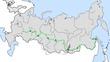 シベリア河川全図ルート