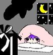 クリスマス・イブのミニ絵