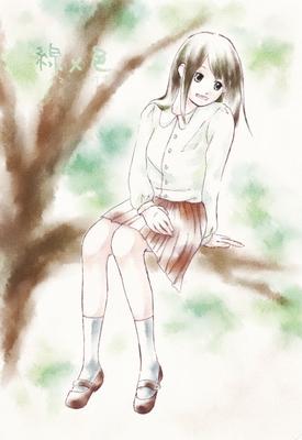 【線×色Ⅱ】ご機嫌な彼女(ミノマさまの線画)