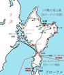 『賊軍の双翼 ナミカとファジィ』地図