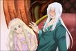 「魔導師の掟と幼い妻と」ゼクトール&ティーナ