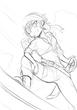 勇者のセカンドライフ 女海賊ラフ絵