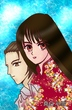 AyaとKou~渚にて