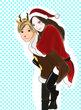 クリスマス「私を運びなさいよ」
