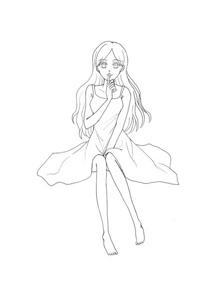 【塗り絵企画Ⅳ】線画 1
