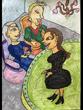 復讐の王女と願いの石 第一章の挿絵