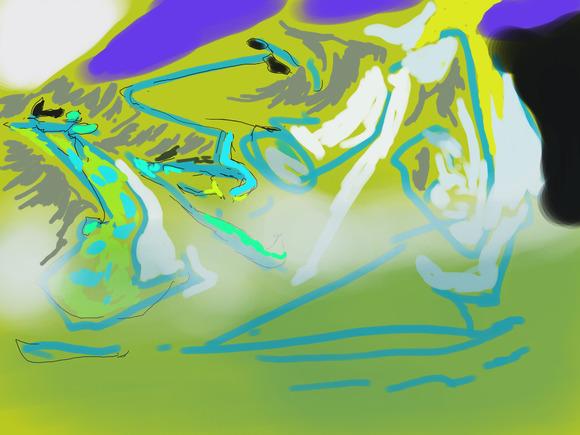 檸檬 絵郎様へのファンアート 途中絵となります