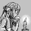 猫面と蝋燭