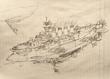 レインボー級装甲巡空艦 2番艦 ロイヤル・グローリー