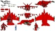 ナンコウ・カイ用TLD04-飛行装置(最終話。飛行形態)