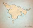 東アルトリア大陸地図