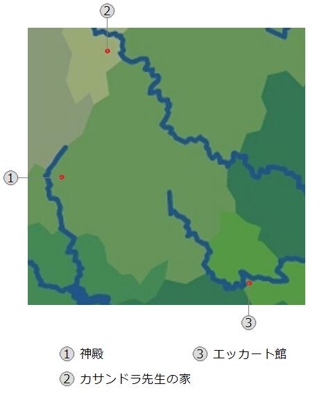 天廻の媛~僕らのマイペース異世界体験記~地図2