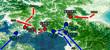 北肥前戦線図