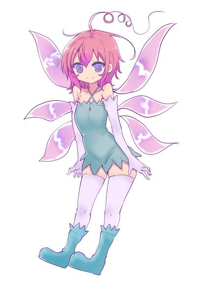 「妖精さんが世界をハッピーエンドへ導くようです 」主人公:アイドリー