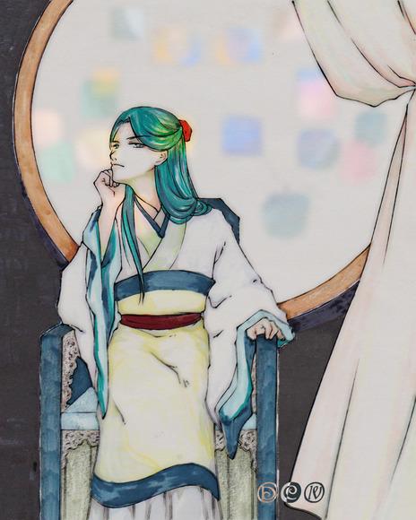 【線×色Ⅳ】汀雲様の線画