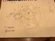 異世界妖魔大戦第12章、ブカレシタ星型要塞攻略戦の地図