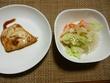 レシピ6、メカジキのめんつゆ煮と茹で野菜のポン酢がけ