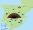 ローランド王国地図