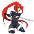 【落書き】女剣士