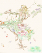 【D★C】花と踊る(ミノマ様の線画)
