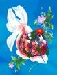 金魚姫(線画ナシで塗ってみた)
