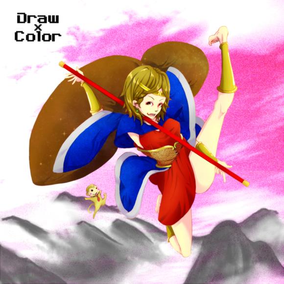 【線画×彩色◆コラボ祭Ⅱ】だるま屋様