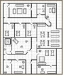 貴族の別荘二階