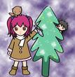 カワウソとクリスマス