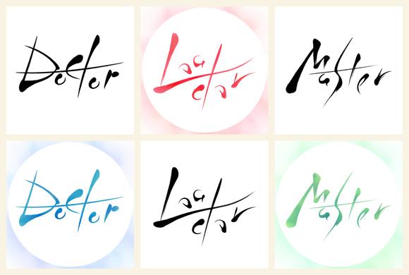 書・Doctor/Leader/Master