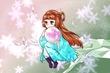 【コラボ祭Ⅳ】Saika様の線画「精霊」