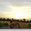渡瀬の朝陽