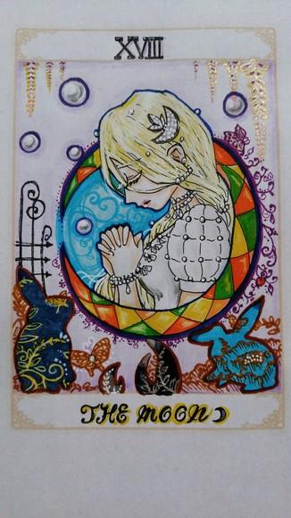 XVIII  The Moon (月)