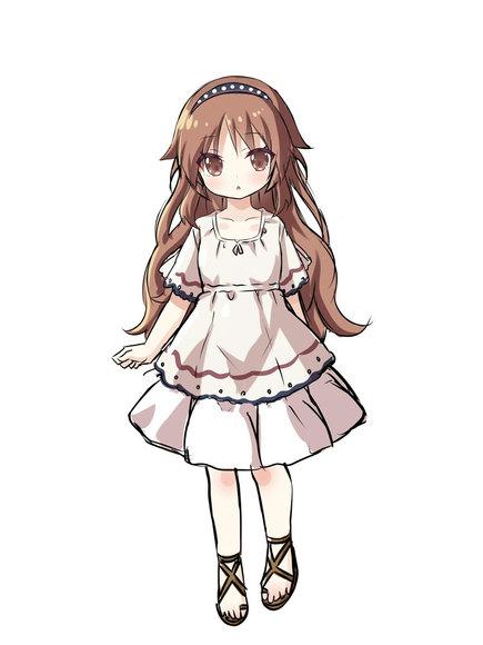 ミルテ(キャラクターデザイン画)