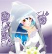 【頂き物】花嫁姿の大人幸希さん