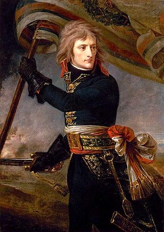 アルコレ橋のナポレオン