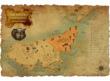 ドナロ大陸地図