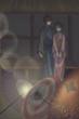 「茶室にて」の和傘の灯りシーン