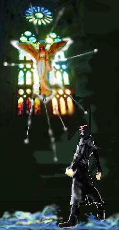 暗い夜が終わる時 ~異空間の礼拝堂