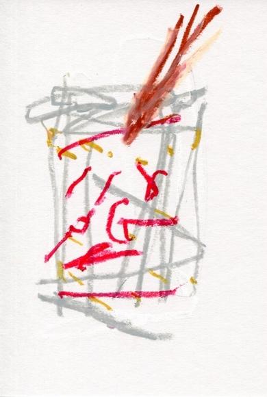 文芸コラム 『言葉の精練』の第31回の挿絵、その2