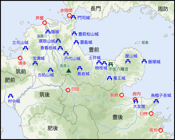 香春岳城攻防戦3