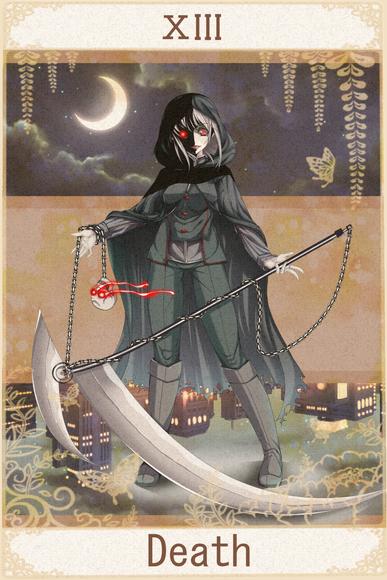 みてみんタロット企画 『XIII Death』