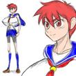 赤井焔 ※制服